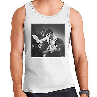 Colete Bryan Ferry fotografia 1974 MASC