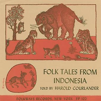 Harold Courlander - Folk Tales From Indonesia [CD] USA import