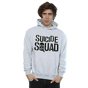 Suicide Squad Men's Movie Logo Hoodie