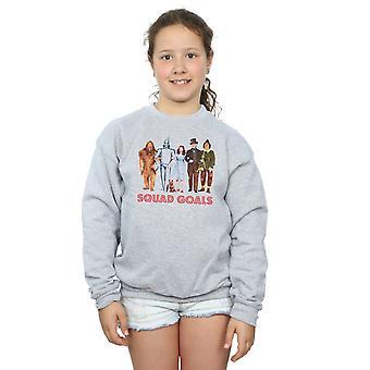 Der Zauberer von Oz Mädchen Kader Ziele Sweatshirt