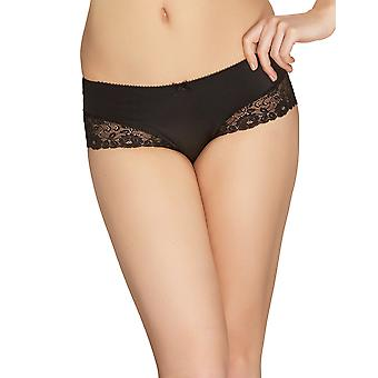 Mio Classic Orchid Black Floral Shorty 148-12-K