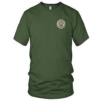 US Marine USS Yancey AKA-93 Angriff Frachtschiff gestickt Patch - Herren-T-Shirt