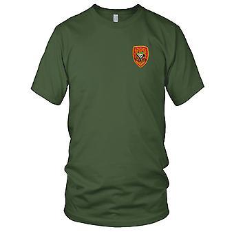 Amerikaanse leger MACV-SOG rode Insignia - Military Assistance Command Vietnam oorlog geborduurde Patch - Mens T Shirt