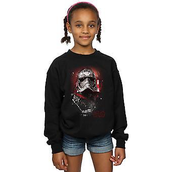 Star Wars Girls The Last Jedi Captain Phasma Brushed Sweatshirt