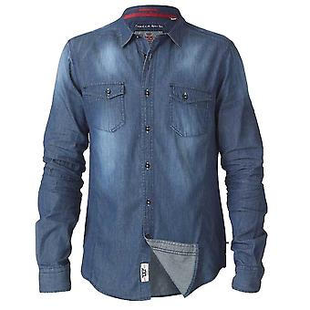 D555 Tobias Tall Vintage Denim Shirt