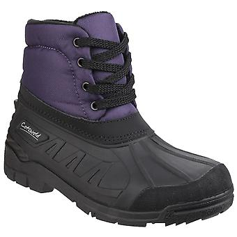 Cotswold Kvinders Leoni Lace Up canadiske Boot Purple