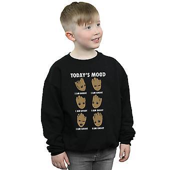 Marvel Boys Guardians Of The Galaxy Groot Today's Mood Sweatshirt