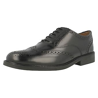 Mens Clarks Smart Lace Up schoenen enkel vangst