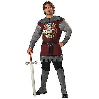 Noble Knight Renaissance Medieval Men Costume
