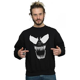 Marvel mäns Venom Bare tänder Sweatshirt