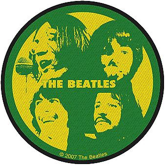 The Beatles Patch Let it Be Band Logo new Official Green Woven Iron on 9cm