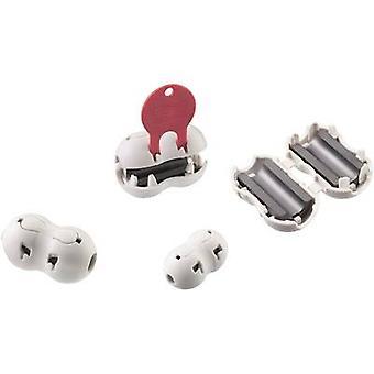 Würth Elektronik STAR-BUENO 74275813 Ferrit Perle Cube + Riegel 200 Ω Kabel Ø (max.) 8,5 mm 1 PC