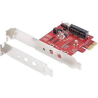 Renkforce GBIC [1x mini PCI Express-1x PCI Express]