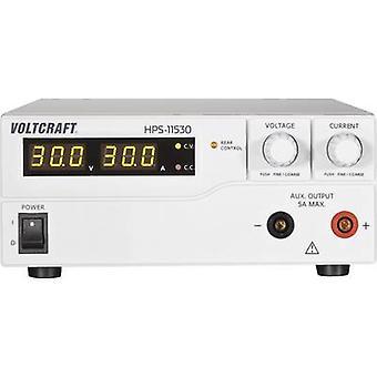 VOLTCRAFT HPS-11530 penkki PSU (säädettävä jännite) 1-15 V DC 0-30 A 450 W kauko No. lähdöt 1 x