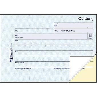 Avery-Zweckform 1736 Receipt A6 landscape No. of sheets: 40 White 80 sheet