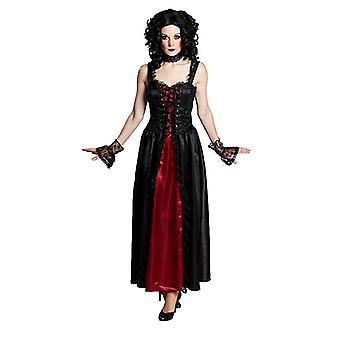 Gothickostüm Gothic Lady Dark Lady Halloween kostium dla kobiet
