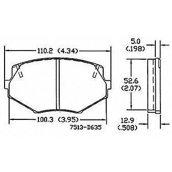 Power Stop 17-635 Z17 Evolution Plus Brake Pad