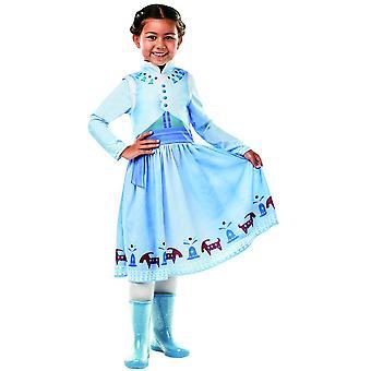 Anna frosset OLAF BB´s eventyr klassiske Disney isen Queen kostyme barn Carnival eventyr prinsesse Anna og ELSA