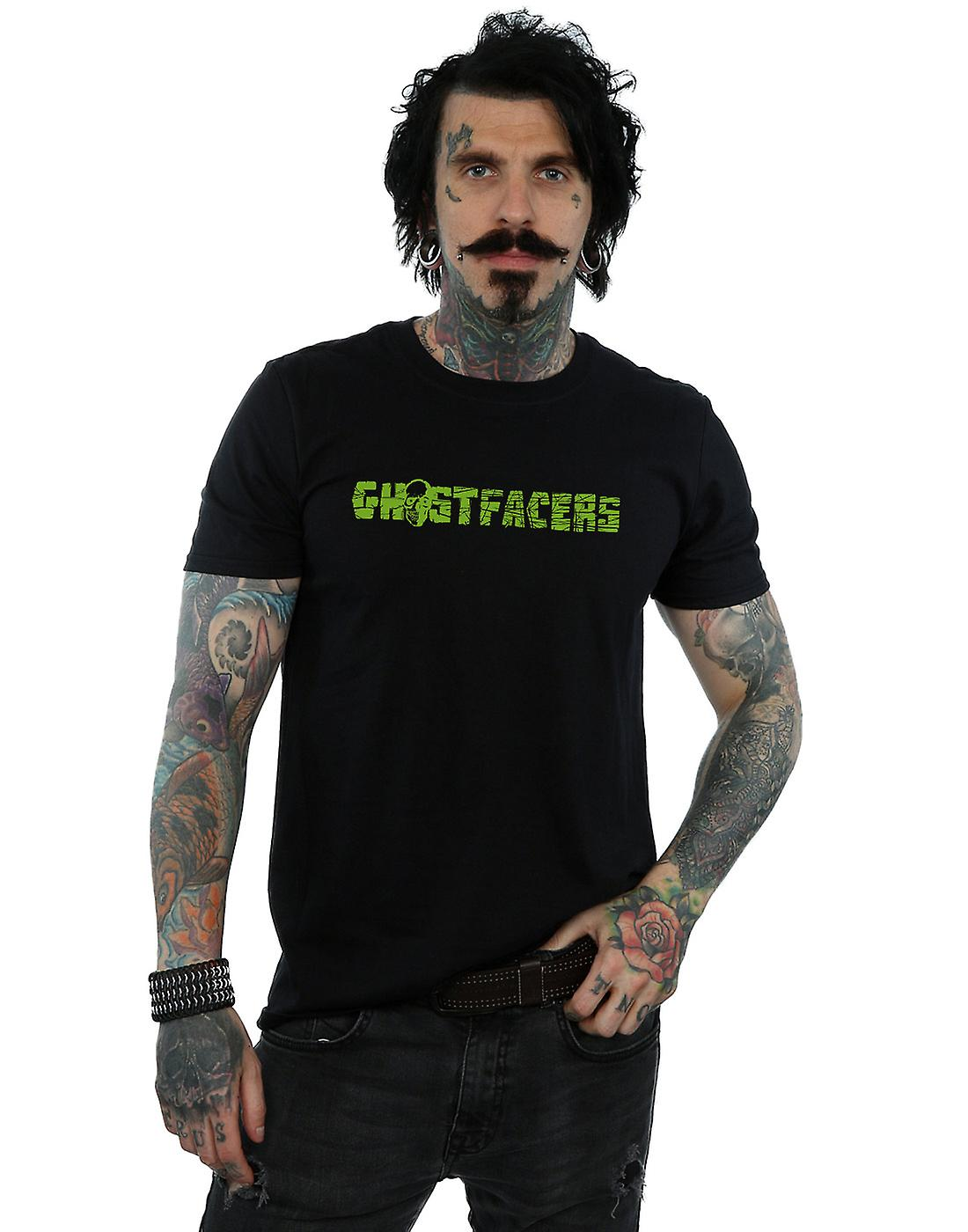 Supernatural Men's Ghostfacers Logo T-Shirt