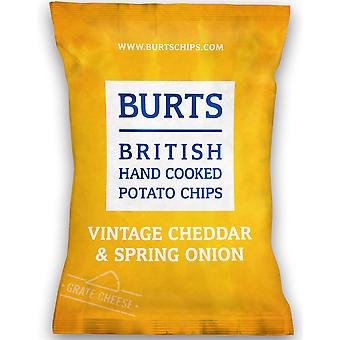 Burts チェダー チーズ ・玉ねぎポテトチップス グルテン フリーします。