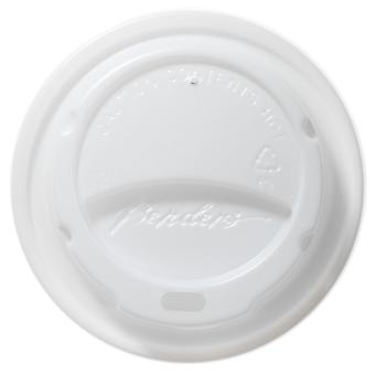 Benders Domed White Paper Cups Lids 8/9/10oz