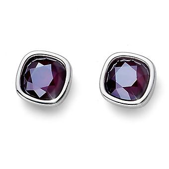 Oliver Weber Earring Royal Simple Rhodium
