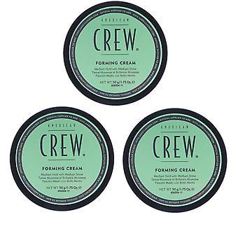 3-pack American Crew vormen Cream 85g