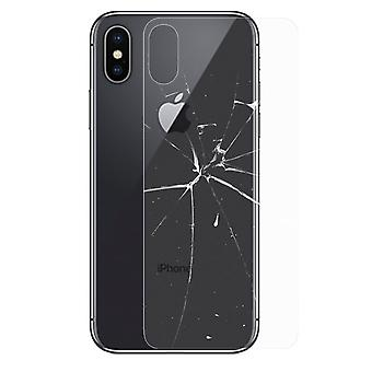 0.26 mm H9 hard glass back battery cover for Apple iPhone XS MAX 6.5 inch foil new