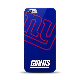 Mizco Sports NFL Oversized Snapback TPU Case for Apple iPhone 6 Plus / 6S Plus (New York Giants)