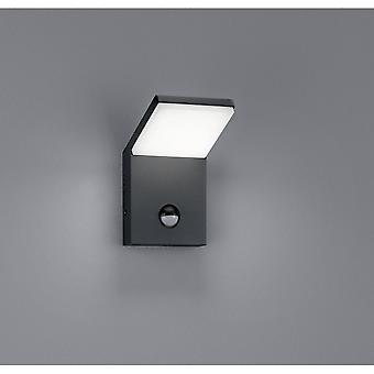 Trio oświetlenie Lampa ścienna perła antracyt nowoczesny odlew ciśnieniowy z Aluminium