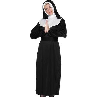 Nun Costume, UK Dress 8-10