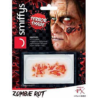 Ужас рану передачи, зомби гнили, красный