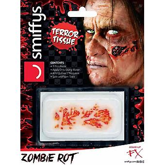 Horror wond overdracht, Zombie Rot, rood