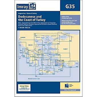 Imray Chart - Dodecanese and the Coast of Turkey (New edition) by Imra