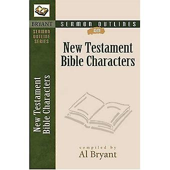 New Testament Bible Characters (Sermon Outlines (Kregel))