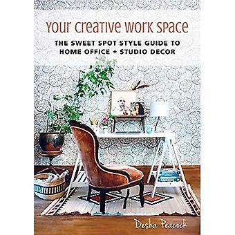 Uw creatieve werkruimte: De Sweet Spot Style Guide to thuiskantoor + Studio Decor
