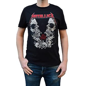 Amplified Metallica Birth School Black Crew Neck T-Shirt M