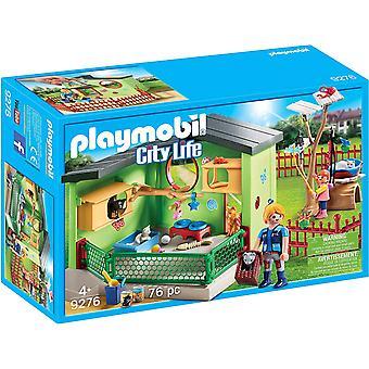 Playmobil 9276 stadsleven Hotel Purrfect Pet kat Boarding blijven