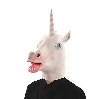 Unicorn mask mask Unicorn Unicorn mask rubber mask adult