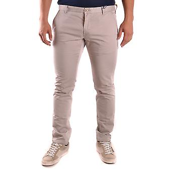 At.p.co Ezbc043005 Men's Beige Cotton Pants