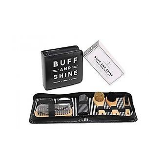The Dapper Chap Buff and Shine Shoe Care Kit
