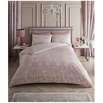Antoinette Floral Modern Duvet Quilt Cover Reversible Bedding Set Pillow Case
