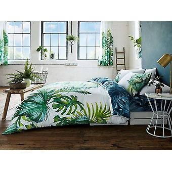 Tropical Leaf Duvet Cover Bedding Set