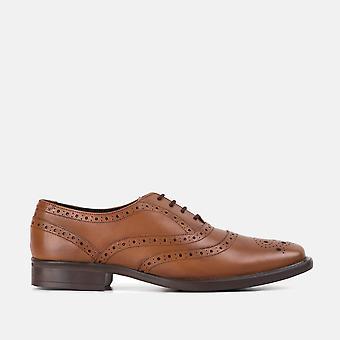 William tan classic oxford brogues