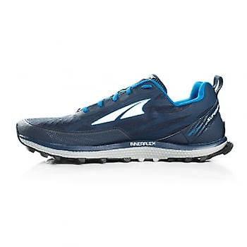 Altra Superior 3.5 Mens Zero Drop & Footshape Toe Box Trail Running Shoes Blue