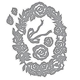 Mueran el panel floral dimensional de la serie Spellbinders Designer (S4-851)