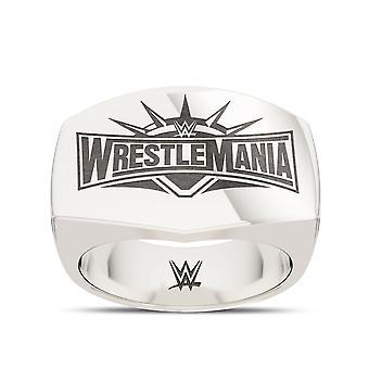 Wrestle Mania Ring In Sterling Silver Design by BIXLER