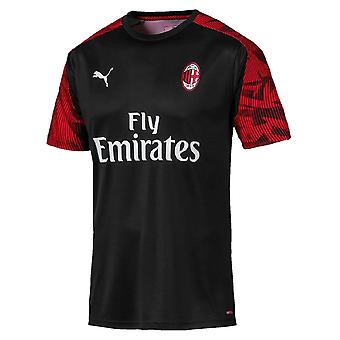 2019-2020 AC Milan Puma Training Shirt (Black) - Kids