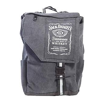 Jack Daniels Backpack Classic Old no 7 Bottle Logo new Official Black Canvas