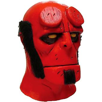 Hellboy Latex Mask For Adults